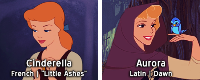 18 Disney Princesses Names And Their Meaning In Different